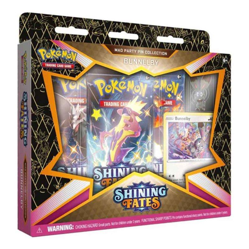 Pokemon Shining Fates Pin Collection Bunnelby english