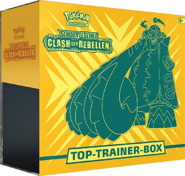Pokemon Top Trainer Box Clash der Rebellen