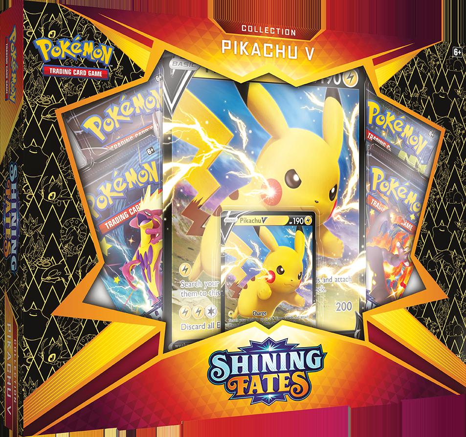 Pokemon Shining Fates Pikachu V Box englisch