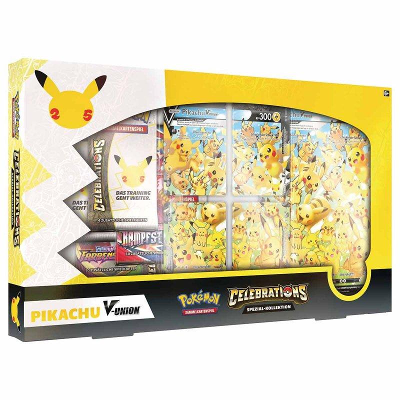 Pokémon Celebration Pikachu V-Union Kollektion
