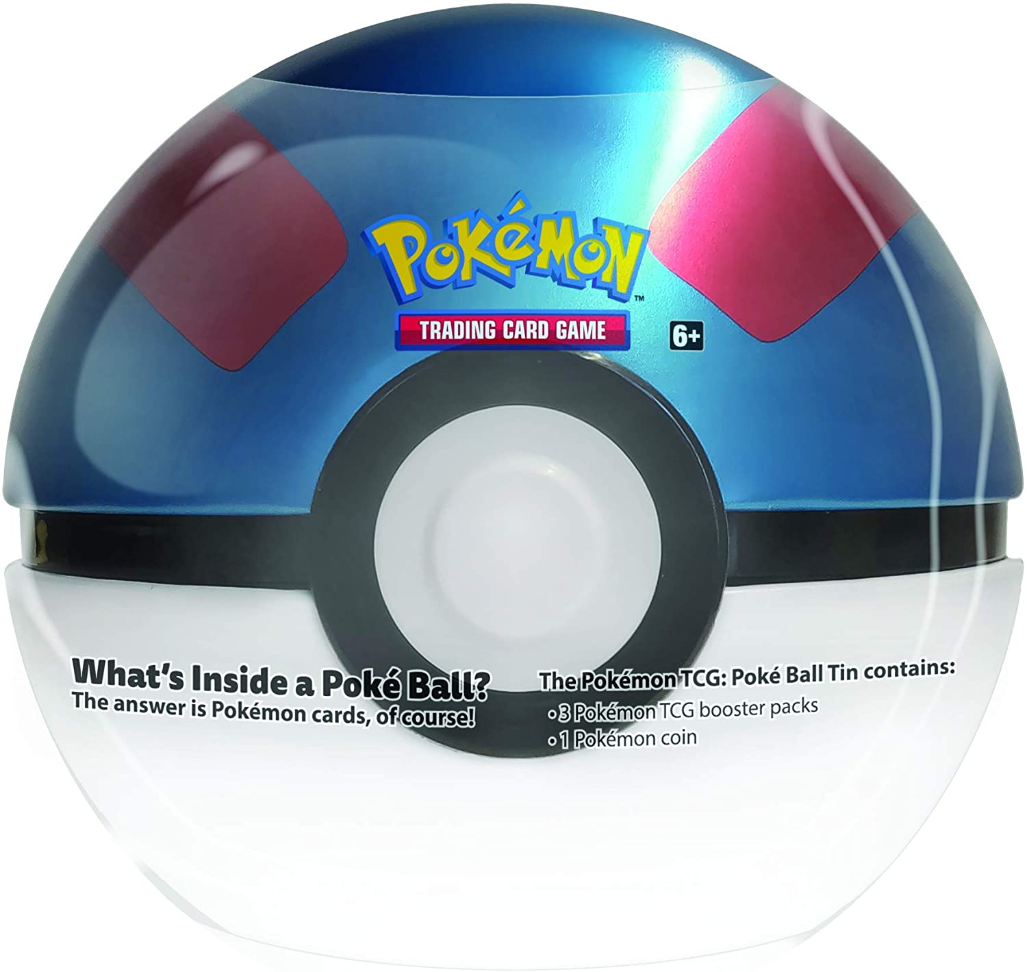 Pokemon Great Ball Tin english