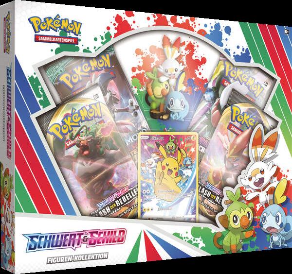 Pokemon Schwert & Schild Figuren Kollektion Box