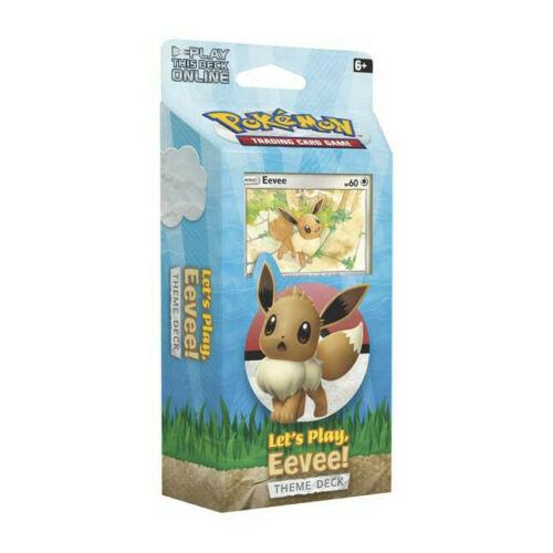 Pokemon Themendeck Let's Play Evoli