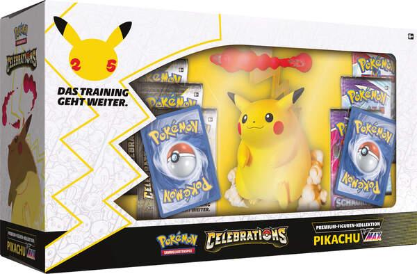 Pokemon 25th Anniversary VMAX Figur