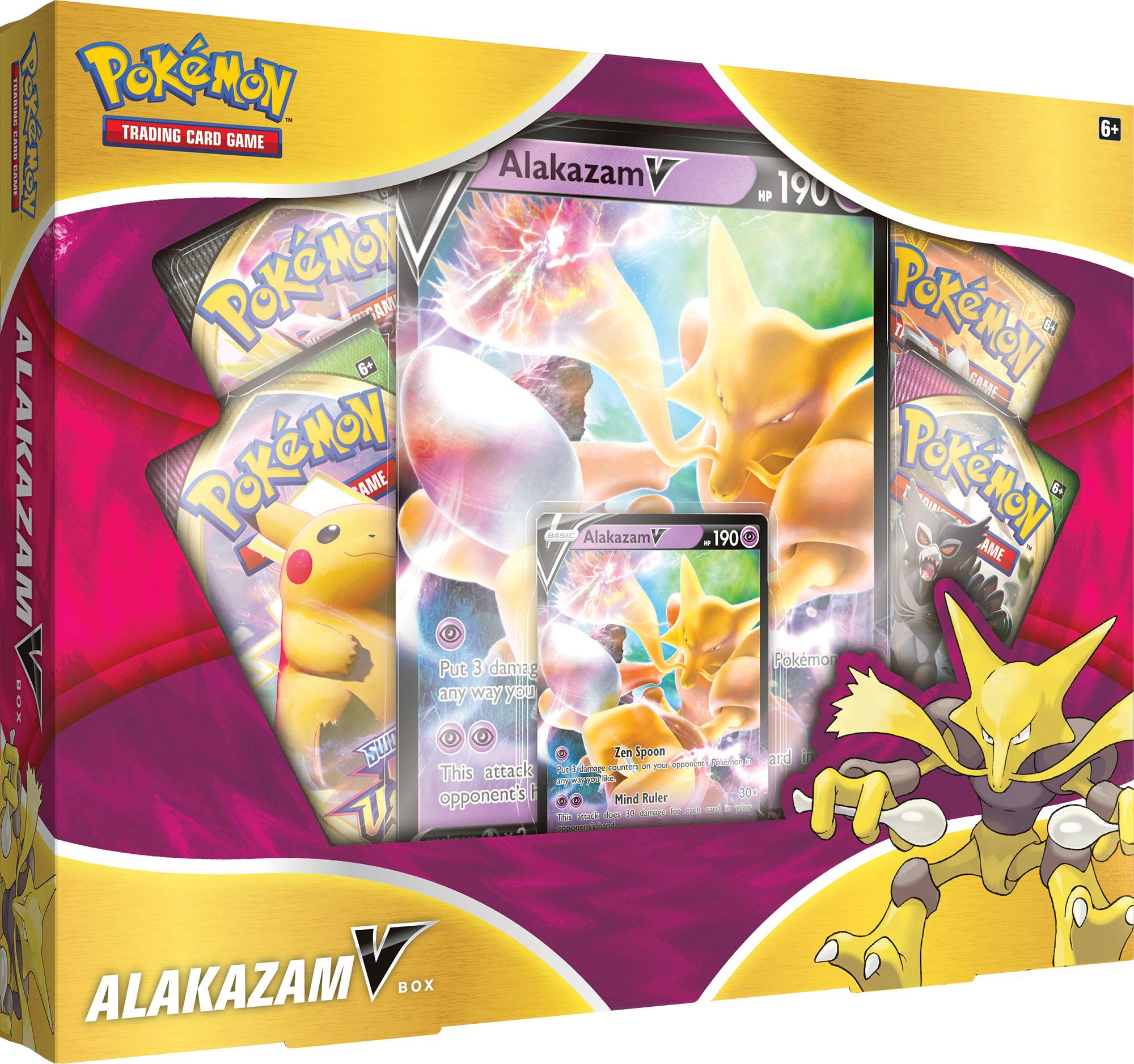 Pokemon Alakazam V Box Preorder englisch