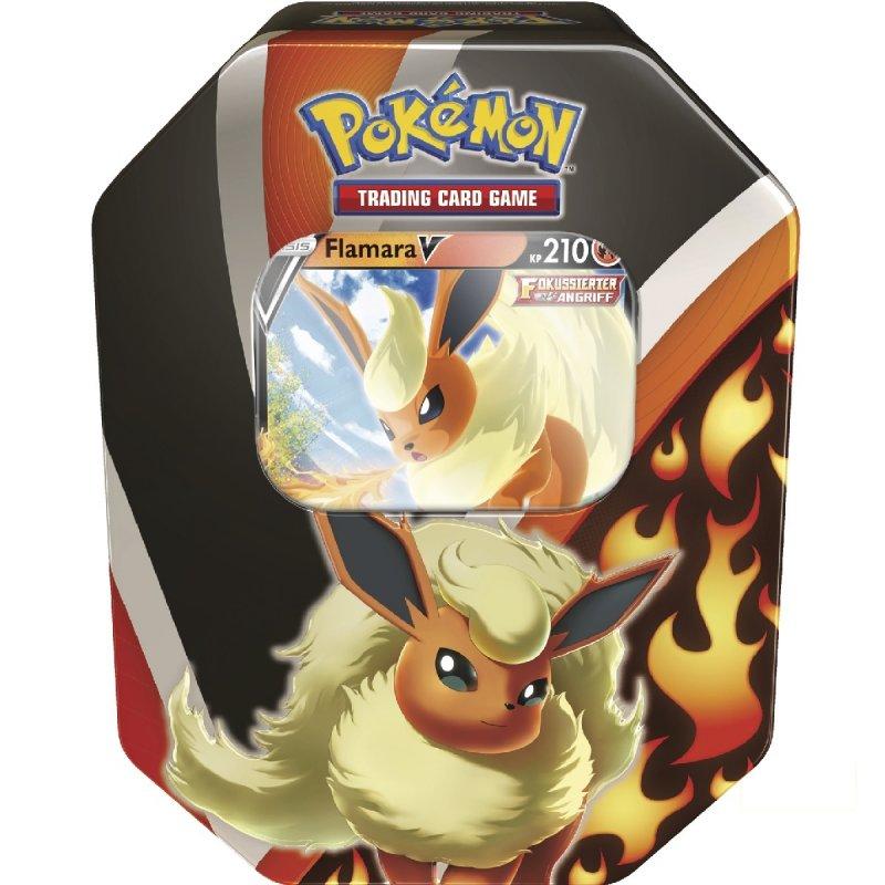 Pokemon Flamara V Tin Box