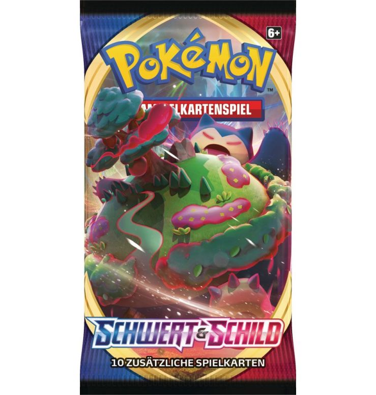 Pokemon Schwert & Schild Base Set EInzelbooster DE