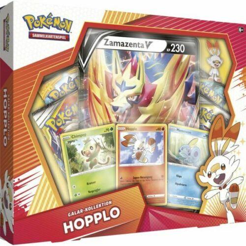 Pokemon Hopplo Galar Kollektion Box