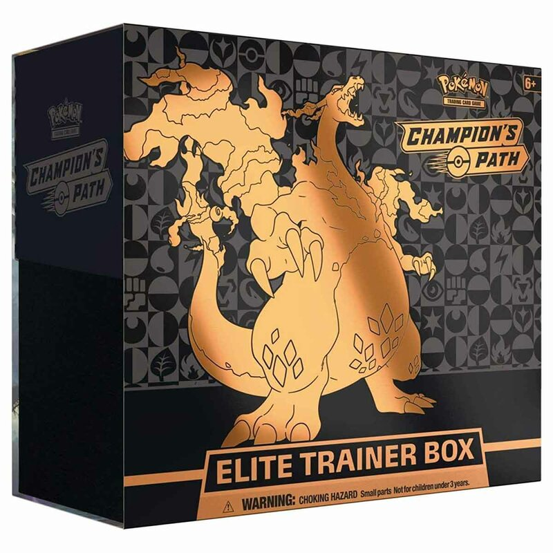 Pokemon Schwert & Schild 3.5 Champions Path Elite Trainer Box englisch