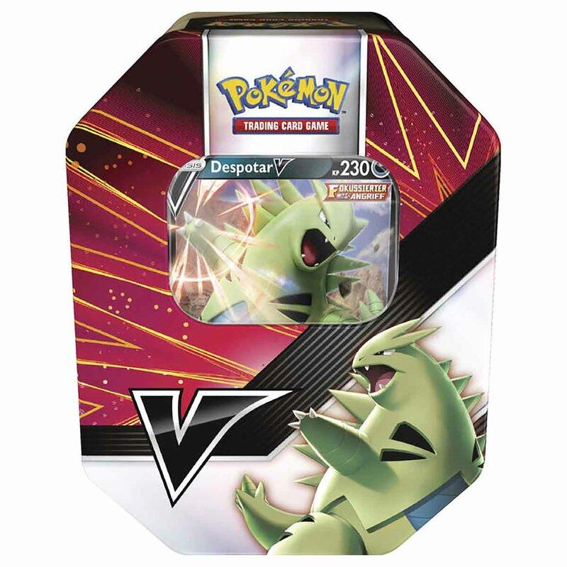 Pokemon Despotar V Tin Box