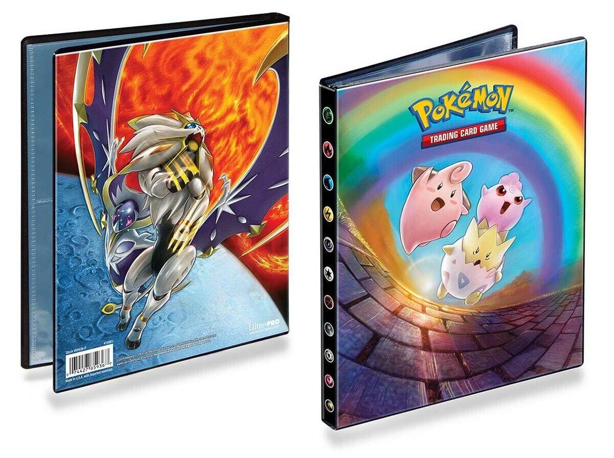 Pokemon Sonne & Mond 12 Sammelalbum A5