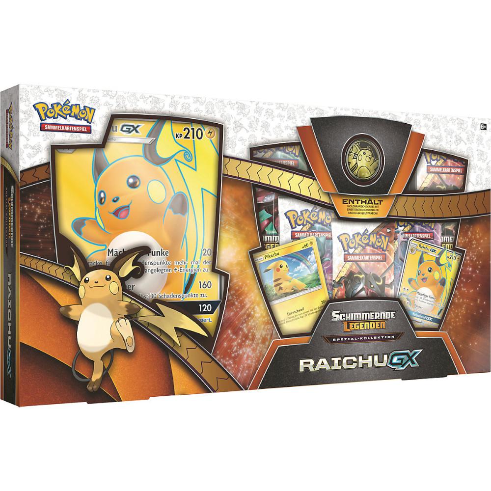 Pokemon Schimmernde Legenden Raichu GX Kollektion