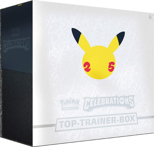 Pokemon Celebrations Top-Trainer Box 25th Anniversary DEUTSCH