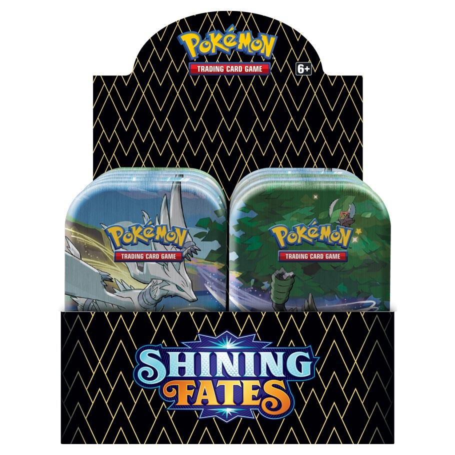 Pokemon Shining Fates Mini Tin Display englisch