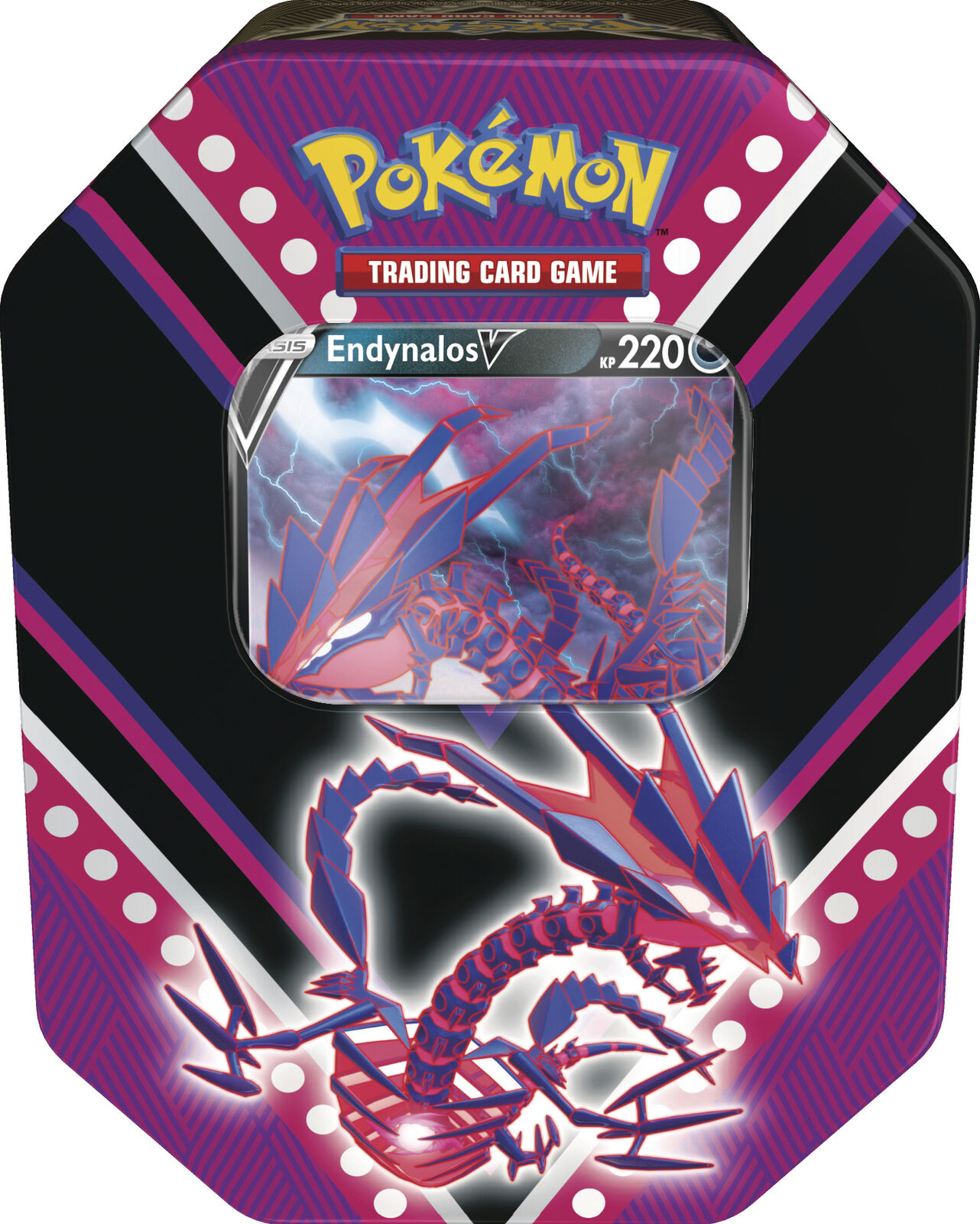 Pokemon Tin Box 87 Endynalos-V