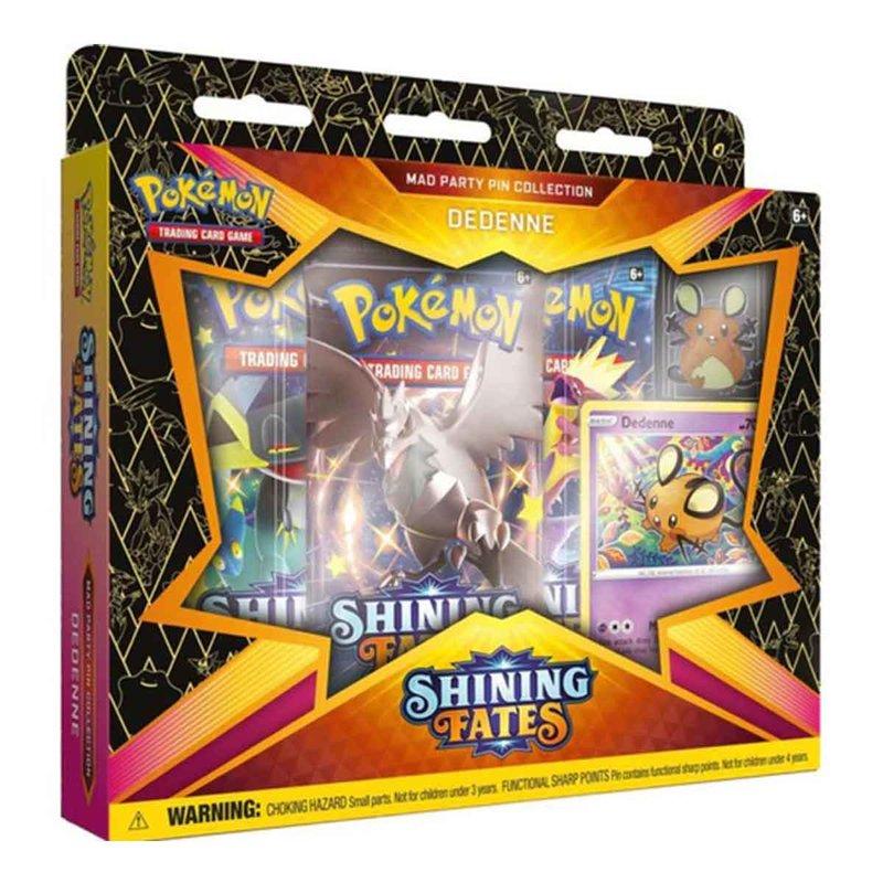 Pokemon Shining Fates Pin Collection Dedenne english