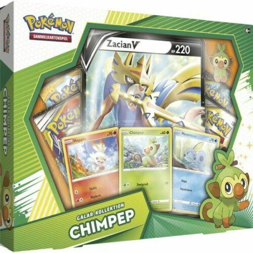 Pokemon Chimpep Galar Kollektion Box