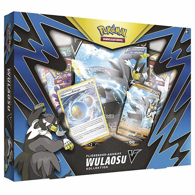 Pokemon Fließender Angriff Wulaosu V Kollektion Box