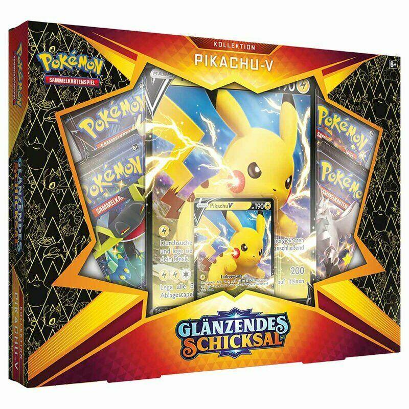 Pokemon Glänzendes Schicksal Pikachu V Box