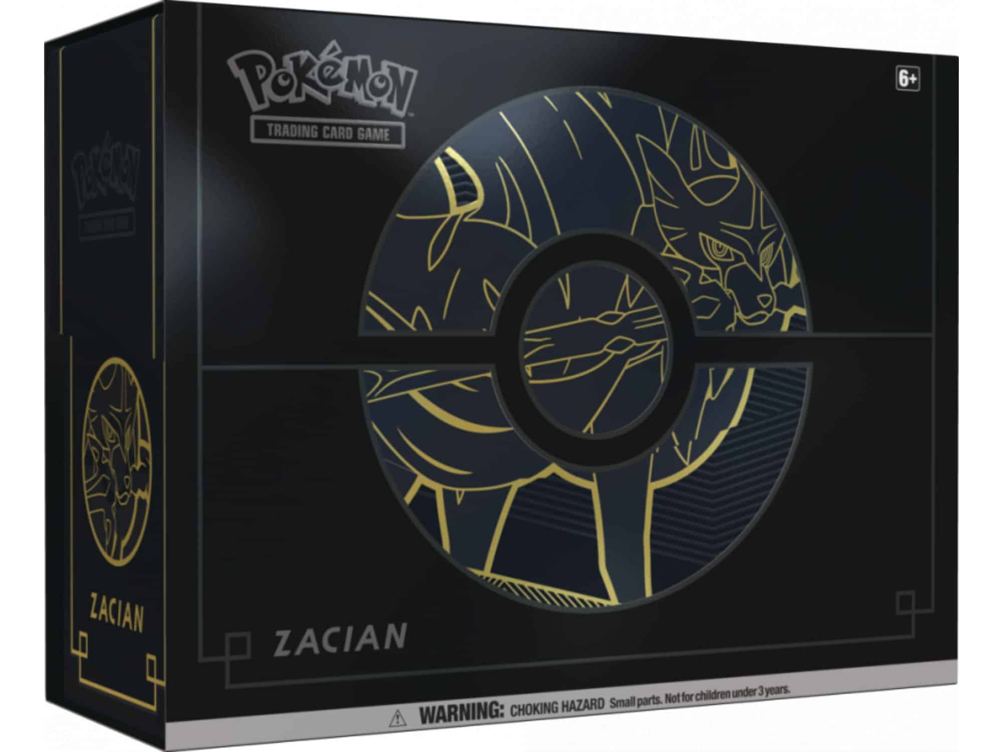 Pokemon Elite Trainer Box Plus Zacian