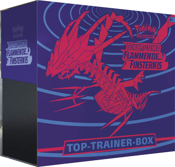 Pokemon Schwert & Schild Flammende Finsternis Top Trainer Box