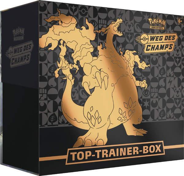 Pokemon Schwert & Schild 3.5 Weg des Champs Top Trainer Box