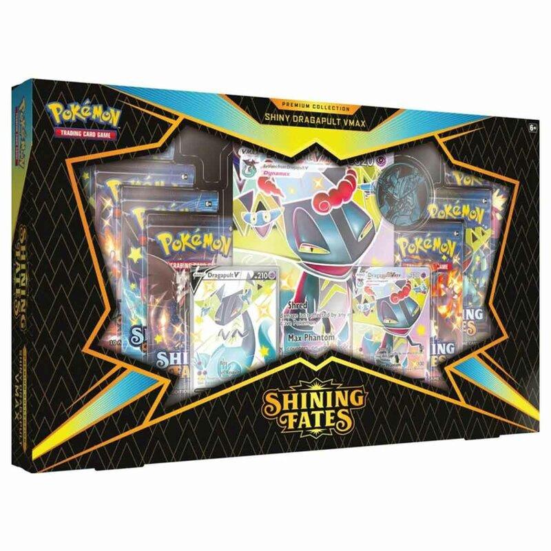 Pokemon Shining Fates Premium Collection Shiny Dragapult VMAX englisch