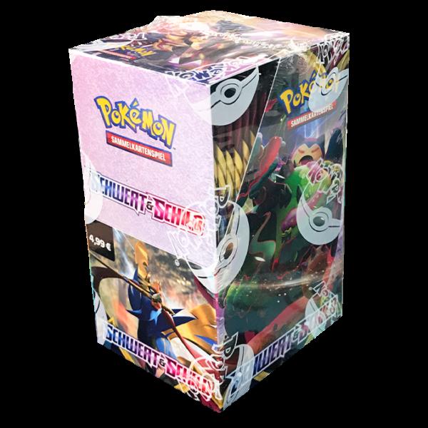 Pokemon  Schwert & Schild 18er Booster Display