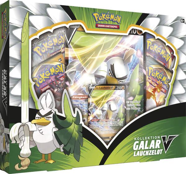 Pokemon Galar-Lauchzelot-V Box