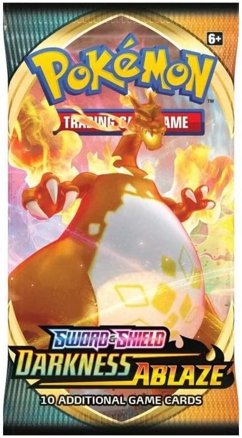 Pokemon Sword & Shield Darkness Ablaze Einzelbooster ENG