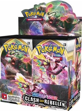Pokemon Booster Pack Schwert & Schild Clash der Rebellen